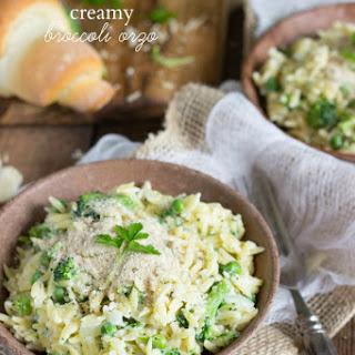 Creamy Broccoli Orzo Dish