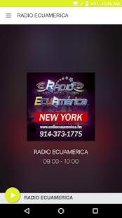 RADIO ECUAMERICA INTERNATIONAL- screenshot thumbnail