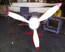 Photo: Injected O-360-X Rear View