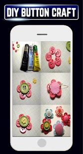 DIY Creative Buttons Home Craft Ideas Designs Tips - náhled