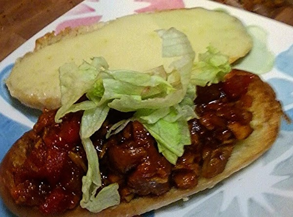 Chicken/Pork BBQ sandwich