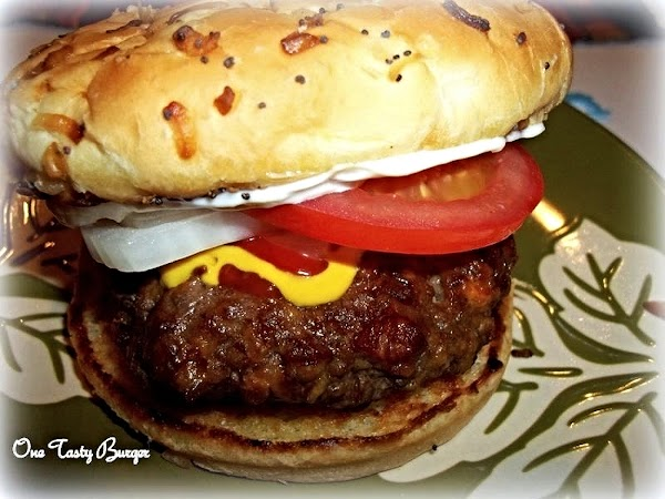 Add favorite condiments and enjoy these delicious burgers.