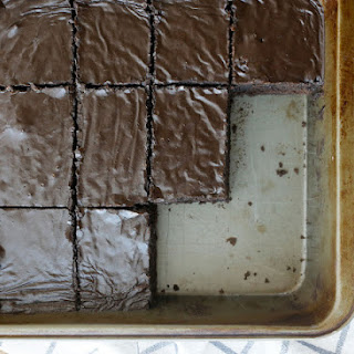 Lunch Lady Brownies - Chocolate for Joan