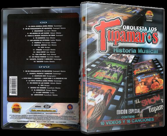 Los Tupamaros - Historia Musical (2008) [MP3 @320 Kbps]