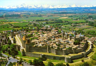 Photo: La Cité de Carcassonne à 8km du camping
