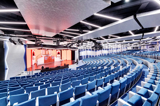 Look for the grand productions MSC Cruises is known for in the Théâtre La Comédie aboard MSC Grandiosa.