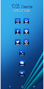 Combo Blue v2 Icon Pack Screenshot