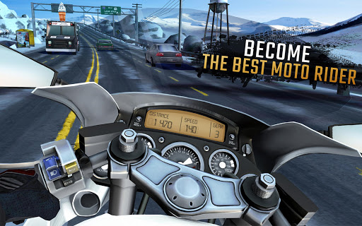 Moto Rider GO: Highway Traffic  screenshots 14