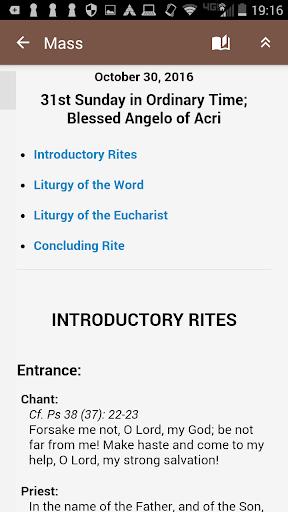Screenshot for iMissal - #1 Catholic App in Hong Kong Play Store