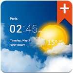 Transparent clock weather Pro 0.99.11.02 (Paid)