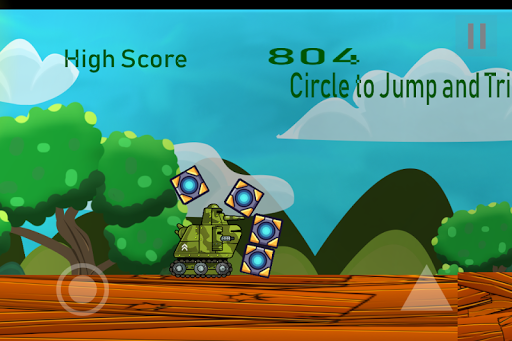 Uber push tank lite: Free Endless Shooting Game 1.2 screenshots 2