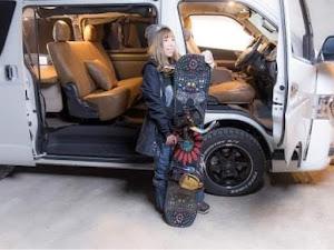 ハイエース GDH201V SGL2WD 31年式のカスタム事例画像 RINAさんの2020年12月19日08:14の投稿