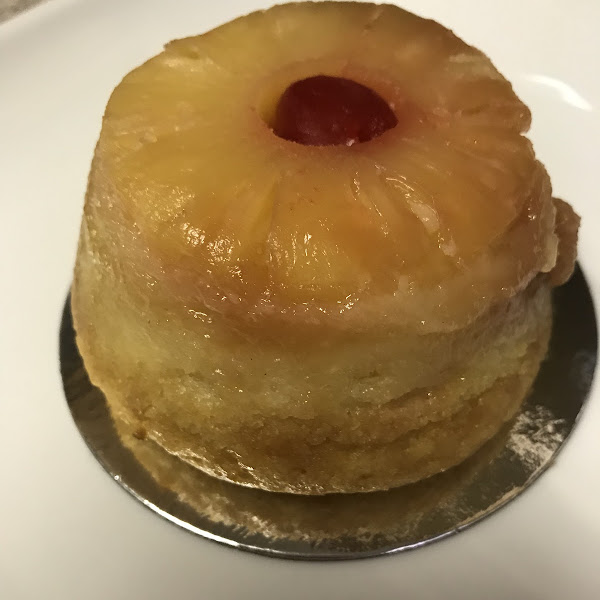 Pineapple upside down cake! So yummy!
