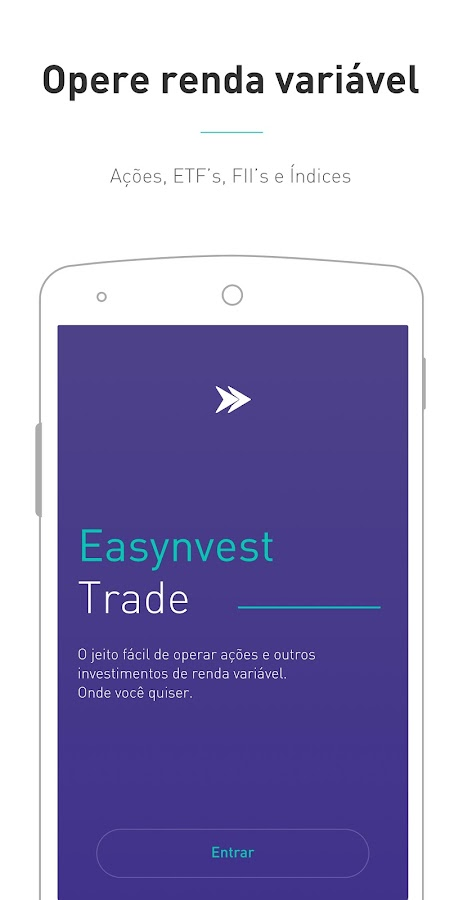 Easynvest Trade: captura de tela