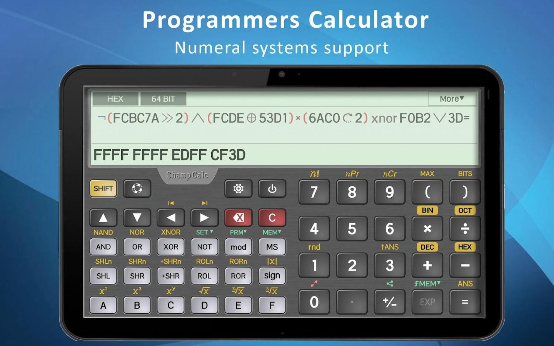 Champcalc pro scientific calculator android apps on google play champcalc pro scientific calculator screenshot falaconquin