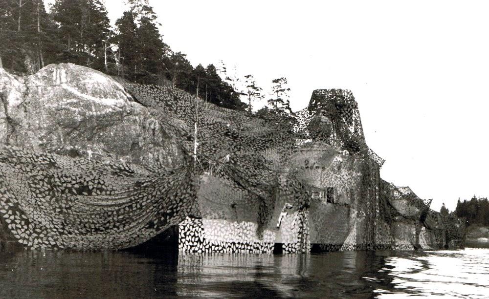 A arte de camuflar navios na guerra