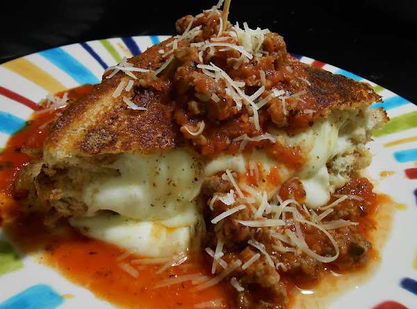 Italian Grilled Cheese Sammie With Sauce Recipe