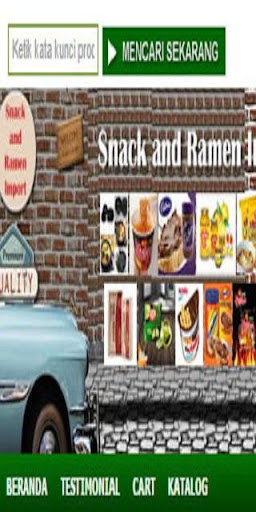 Snack Ramen Impor Online Store