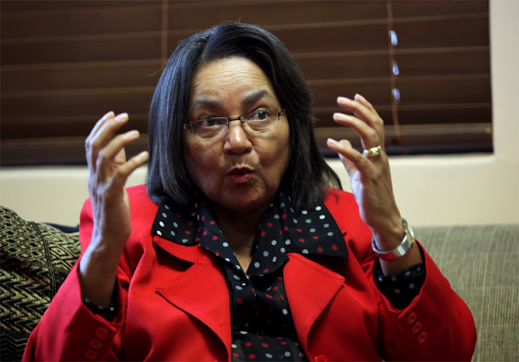 Cape Town mayor Patricia de Lille. Picture: SUNDAY TIMES