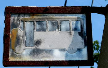 Photo: Year 2 Day 117 -  Quaint Bus Stop Sign