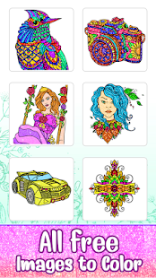 App Glitter Color: Adult Coloring Book By Number Pages APK for Windows Phone
