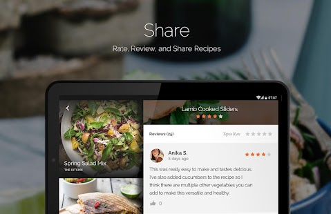 Yummly recipes shopping list android apps on google play yummly recipes shopping list screenshot thumbnail forumfinder Image collections