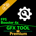 GFX Tool Pro +🔧 Game Booster & Game Graphics Fix icon