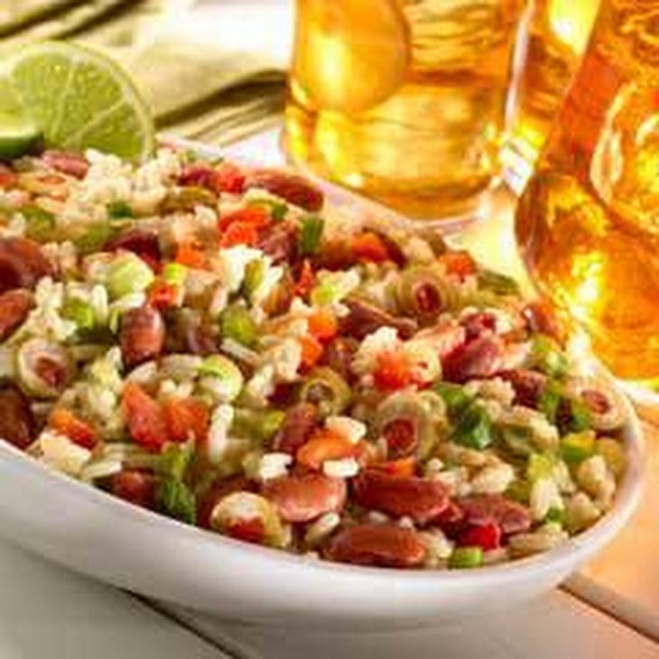 Creamy Rice & Bean Salad Recipe