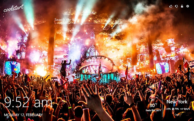 Tomorrowland Hd Wallpapers Dj Music Festivals Chrome Web Store
