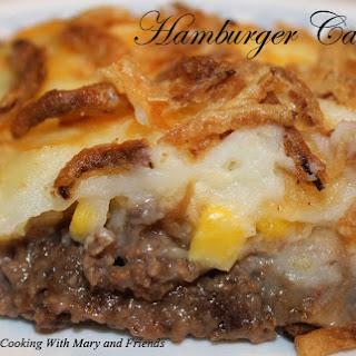 Hamburger Casserole (like Shepard's Pie).