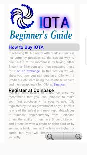 IOTA Beginners Guide - náhled
