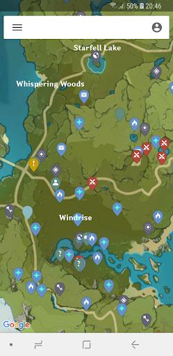 MapGenie: Genshin Impact Map hack tool
