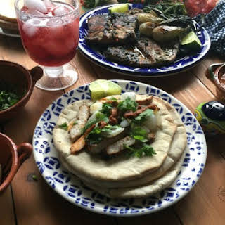 Arabian Tacos or Tacos Arabes.