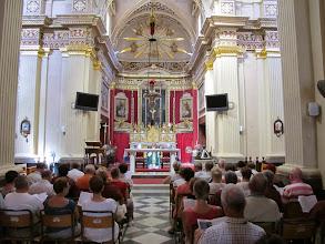 Photo: 13.10.10Marsaxlok : Notre Dame des Neiges, messe