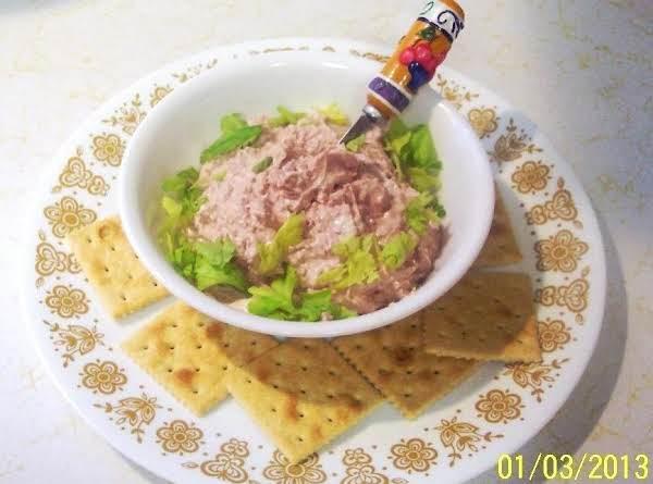 Creamy Braunschweiger Dip..(liver Sausage)