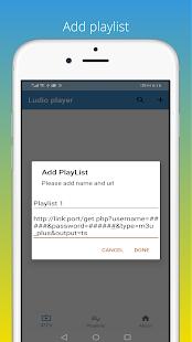 Ludio player for IPTV Screenshot