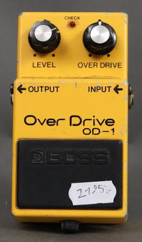 Boss OD-1 Japan USED. Fair condition.