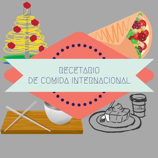Recetario comida internacional
