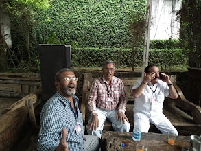 Photo: Dr MK Cheriyan, Doc Romesh and Baba - one of the first to arrive at Yercaud