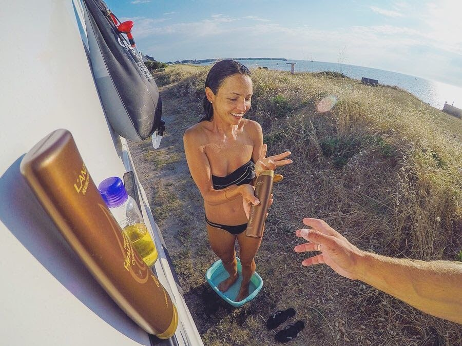 Van Life Showering | Every Possible Option For Nomads