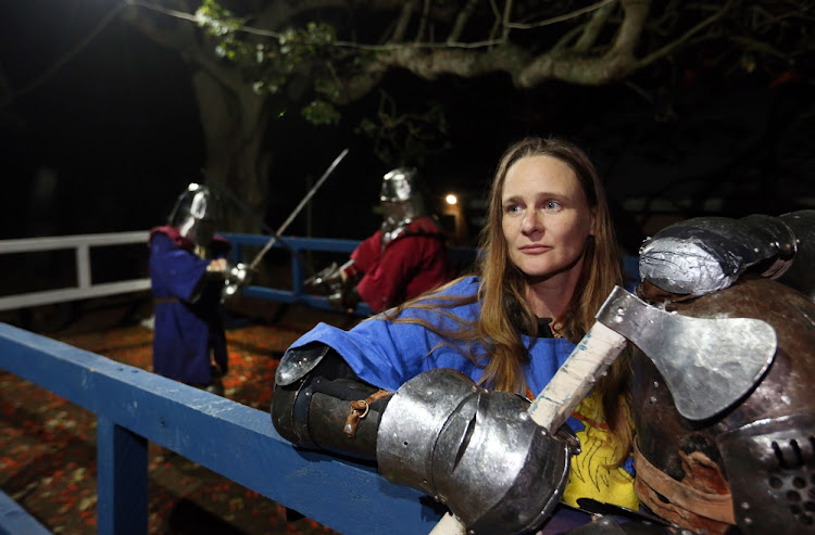 Durban knight wants you to grab a sword & join her medieval