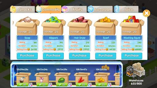 Télécharger My Supermarket Story: Simulez un magnat de magasin APK MOD (Astuce) screenshots 3