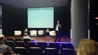 Photo: Mário Lopes, sócio-diretor da Lopes, Machado Auditores na abertura do evento