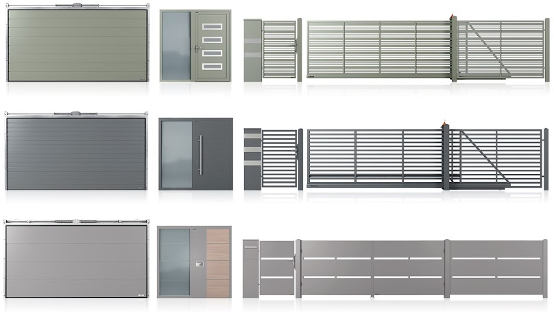 Bramy, drzwi, okna i ogrodzenia w jednym designie Home Inclusive 2.0.