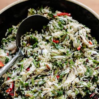 Roast Chicken and 3-Rice Salad