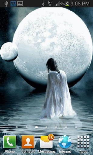 免費下載個人化APP|White Moon Live Wallpaper app開箱文|APP開箱王