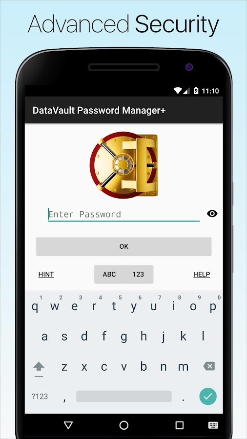 DataVault Passwort-Manager + – Screenshot