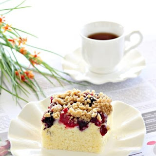 Berry Streusel Cake Recipes