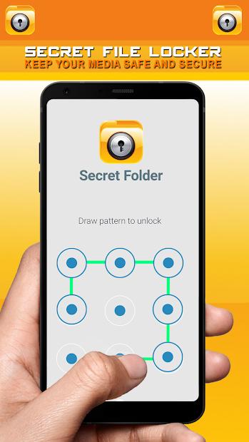 Secret File Locker - Security Lock App screenshot 3