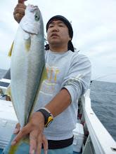 Photo: 貴重なヒラスゲット! 「魚の反応」、「潮」 そんなに悪くなかったんですが、お魚のご機嫌が非常に悪かった一日でした。